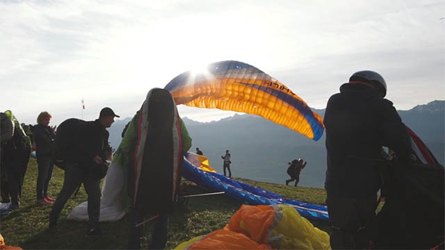 Coupe Icare video paragliding