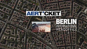 Video Animated Satellite view of corporate berlin