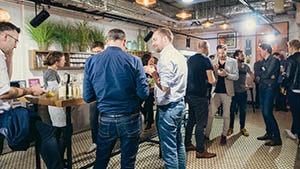 Networking moment during a B2B Event video