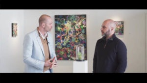 Interview between a real estate CEO and an artist