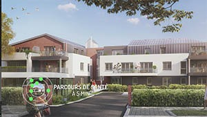 A 3D View of the residence Parenthèse