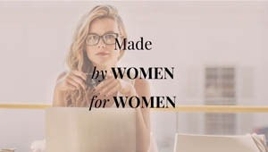 Slogan de FinMarie Made by Women for Women