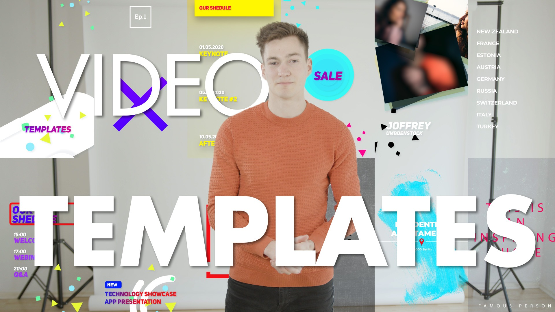 Use Video Templates tips from a videographer
