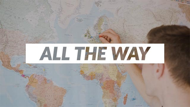 All The Way - Motto - pointing a map