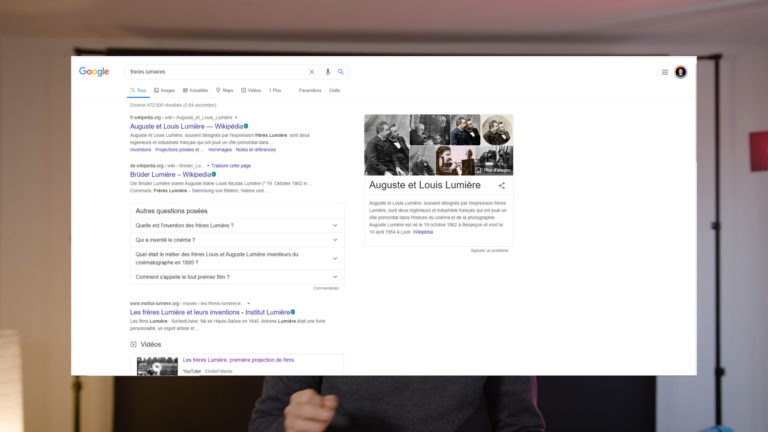 Brother Lumière google search