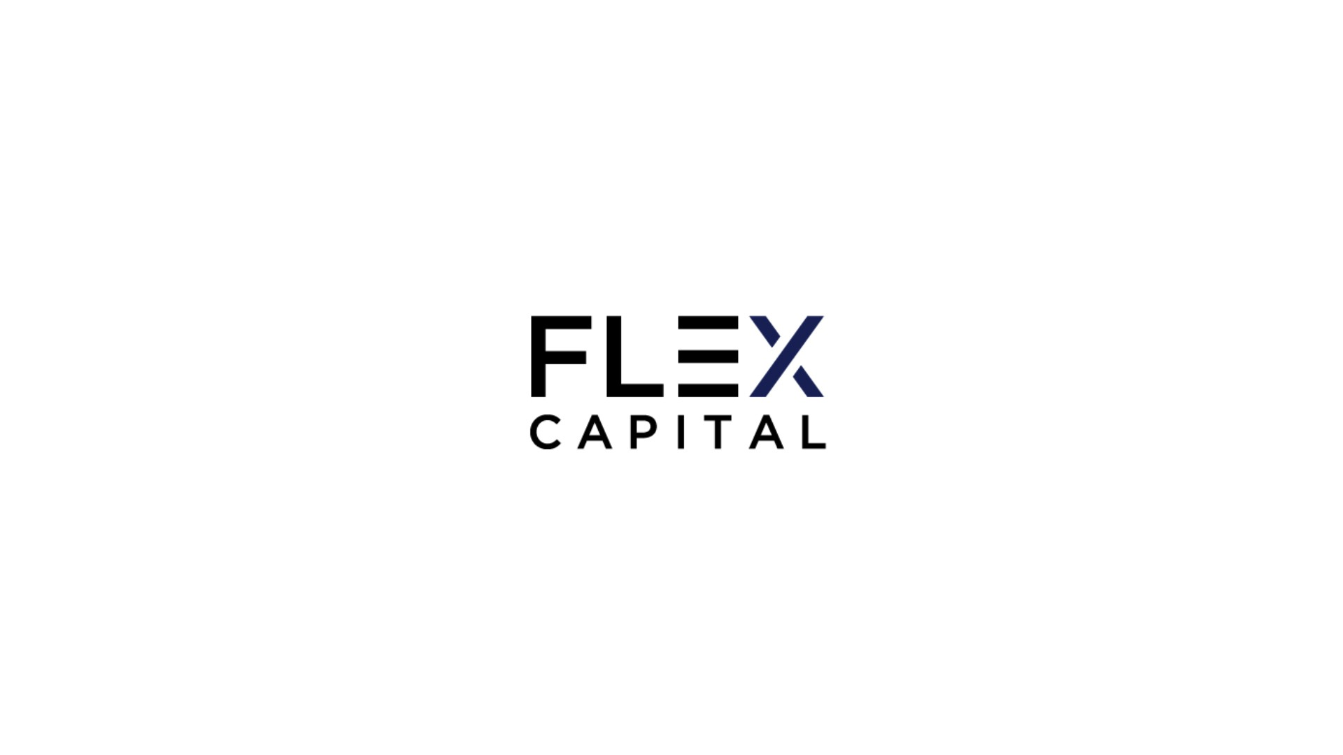 Intro Company Video logo flex capital