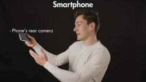 Filming yourself smartphone Videographer tips